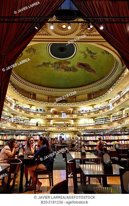 El Ateneo bookstore. Barrio Norte. Buenos Aires. Argentina