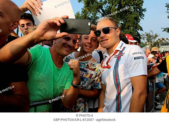 02.09.2016 - Valtteri Bottas (FIN) Williams FW38