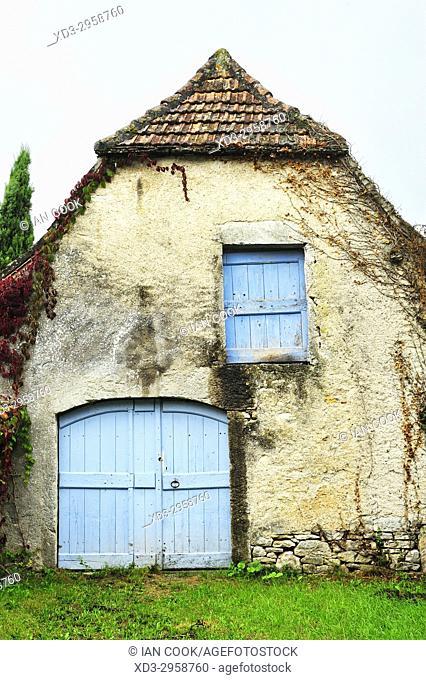 old barn, Espedillac, Lot Department, Midi-Pyrenees, France
