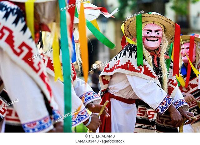 Michoacan dancers, Patzcuaro, Michoacan State, Mexico