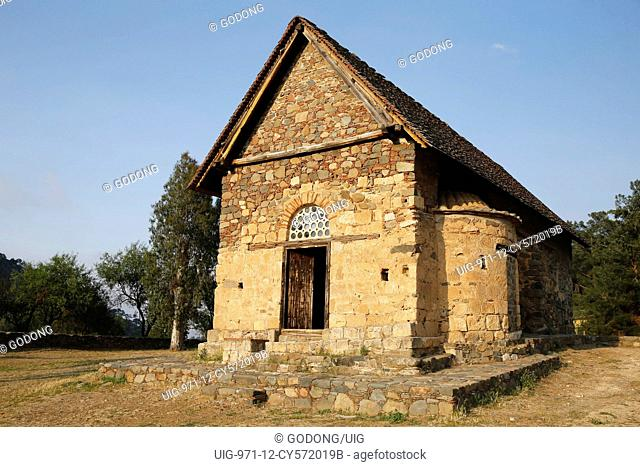 Panagia tis Asinou byzantine church