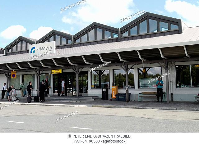 View of the Kemi-Tornio airport in Kemi, Finland, 29 July 2016. The Kemi-Tornio airport is operated by Finavia and is only used for connection flights to...