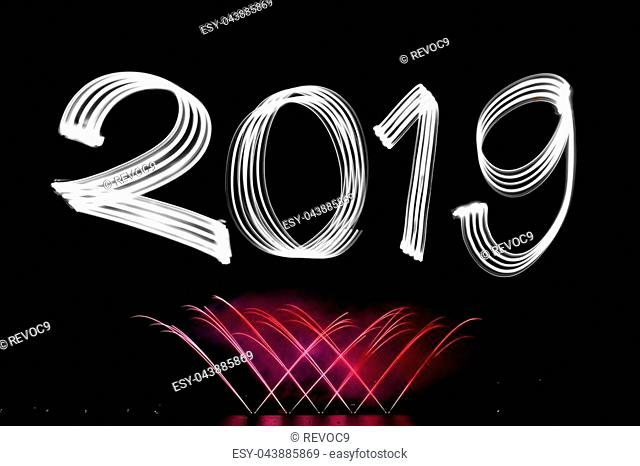 New Year's Eve 2019 with Fireworks