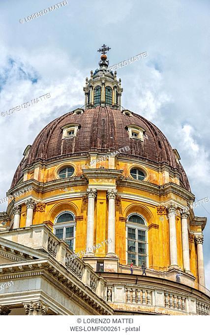 Italy, Piemont, Turin, Basilica of Superga