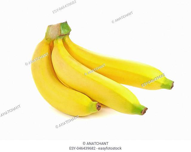 banana isolated on white background