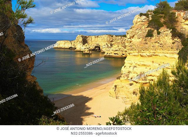 Praia da Marinha, Lagoa, Marinha Beach, Algarve, Portugal, Europe