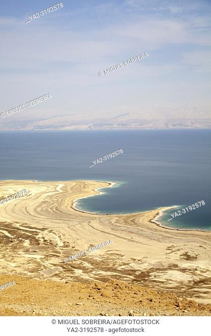 Dead Sea Shoreline in Israel