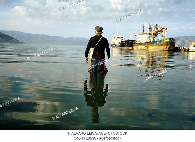 Fisherman. Vlore. Albania