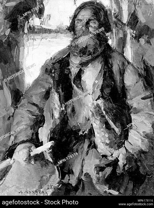 Ivan Rodin. Artist: Abram Efimovich Arkhipov (Russian, Egorovo Riazan province 1862-1930 Moscow); Date: 1928; Medium: Oil on canvas; Dimensions: 44 x 34 1/4 in