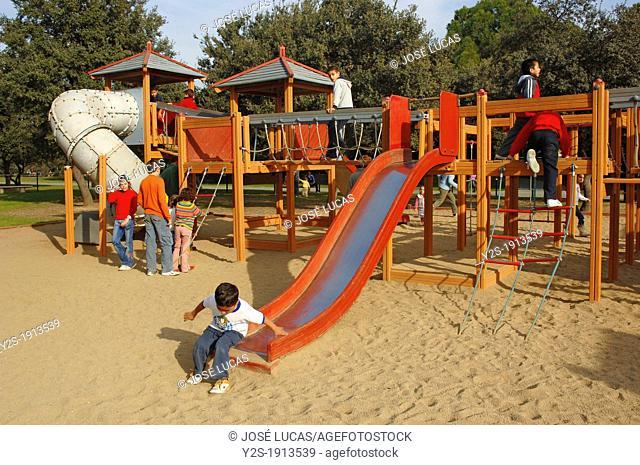Playground, Alamillo's Park, Seville, Spain