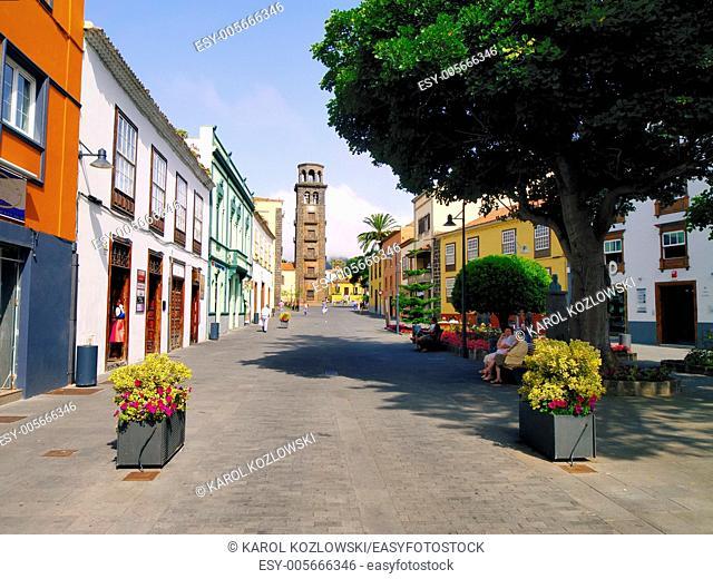 San Cristobal de la Laguna - old capital of Tenerife, Canary Islands, Spain