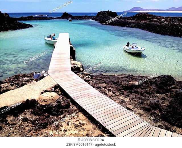 Isla de Lobos, Fuerteventura, Canary Islands, Spain