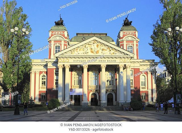 National Theatre, Sofia, Bulgaria