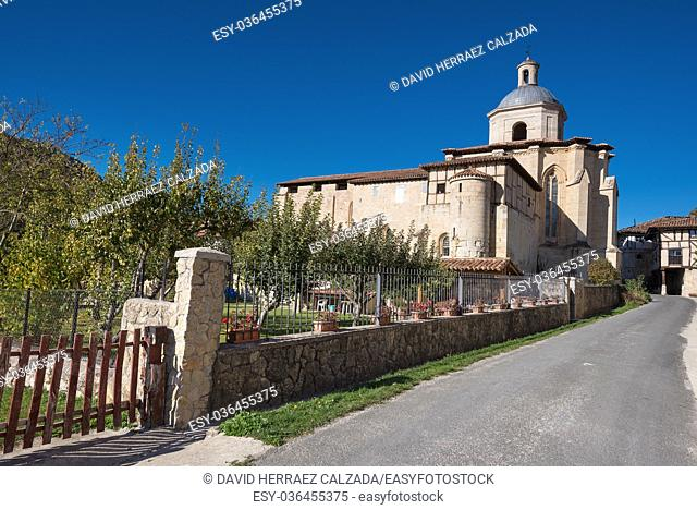 Valpuesta ancient monastery, origin of the spanish language. Burgos, Spain