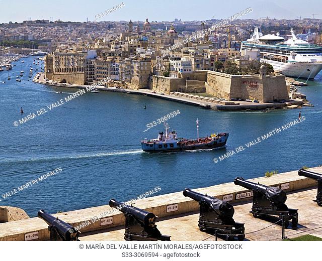 War siege memorial in The Valletta. Malta