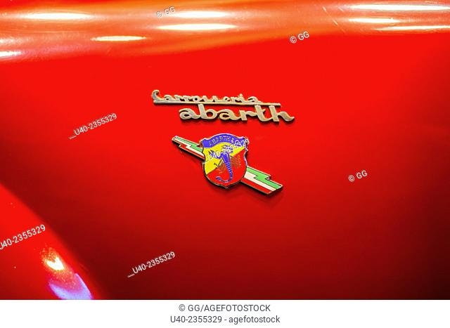 Vinatage Abarth emblem