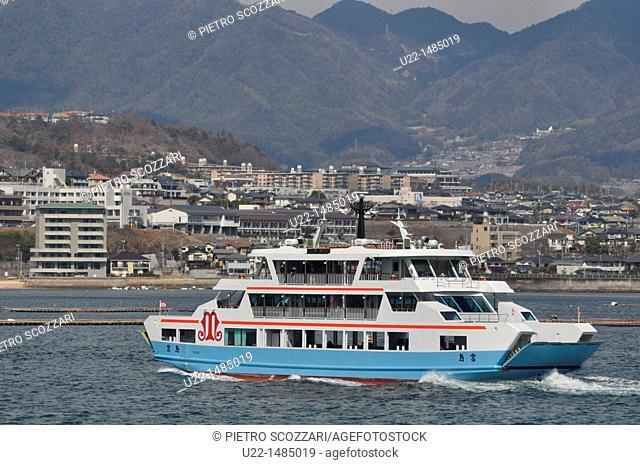 Miyajima-guchi (Japan): the ferry terminal from Miyajima island