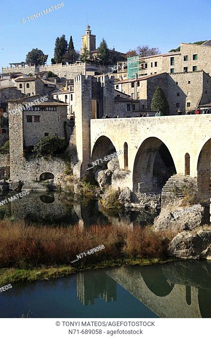 Besalú. Girona province, Catalonia, Spain