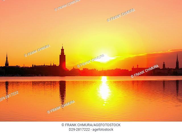 Sweden - Stockholm Skyline at dawn