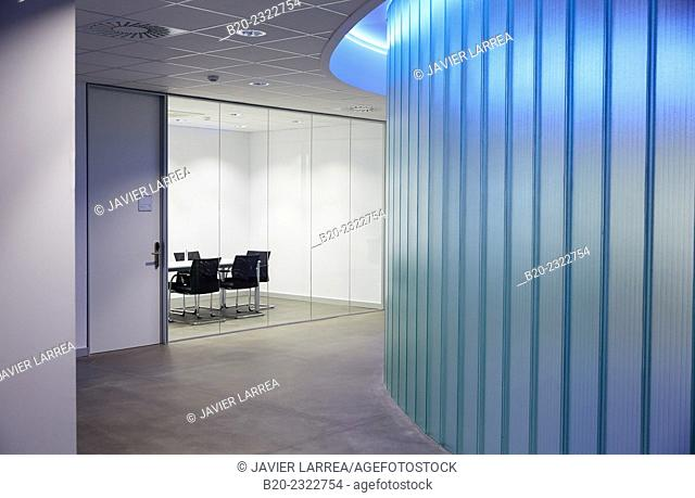 Meeting room. Office building. Technology Park. Zamudio. Bizkaia. Basque Country. Spain