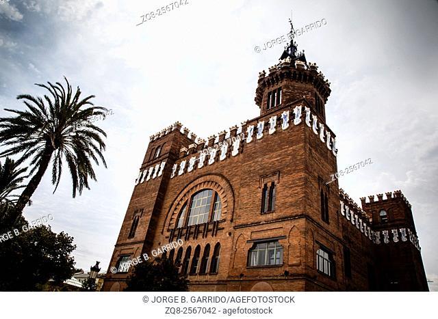 Castell dels Tres Dragons in Parc de la Ciutadella. Barcelona