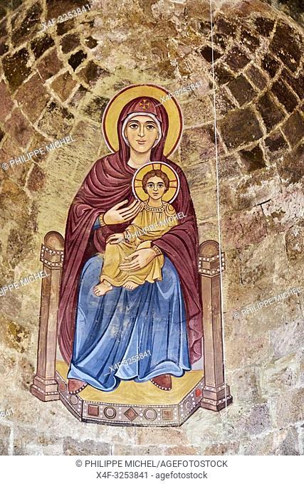Armenie, province de Lori, eglise d'Odzoun / Armenia, Mori province, Odzoun church