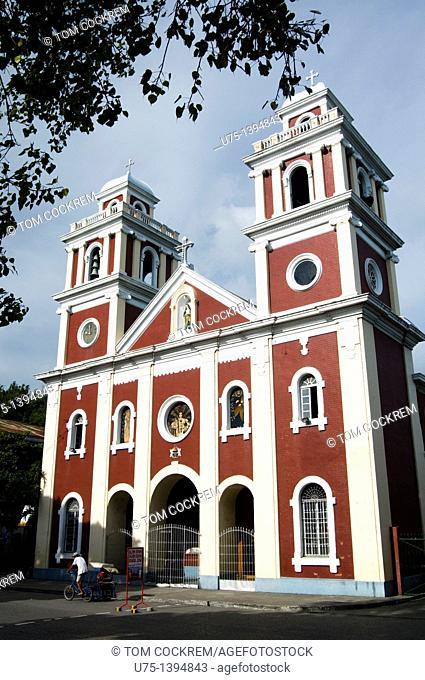 San Jose church, plaza libertad, Iloilo, Panay, Philippines