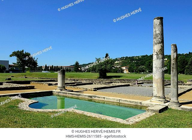France, Rhone, Saint Romain en Gal, Gallo-Roman Museum of Saint-Romain-en-Gal