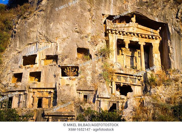 Tomb of Amyntas  Fethiye  Mugla province, Aegean coast, Turkey