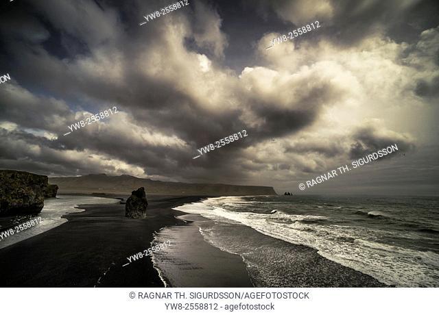 Dyrholaey, South Coast, Iceland