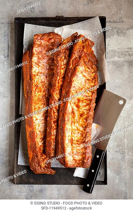 Spicy spare ribs