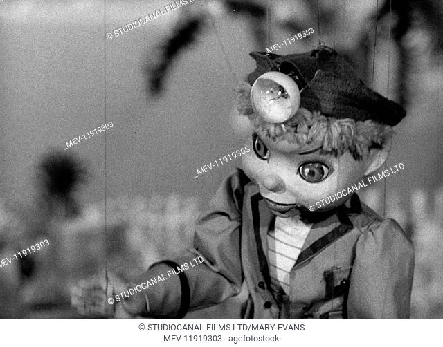 Torchy the Battery Boy (1957) TV series , Series One, Episode Eighteen, The Hungry Money Box , Torchy voiced by Olwyn Griffiths