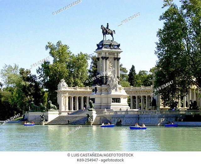 Parque del Retiro. Madrid. Spain