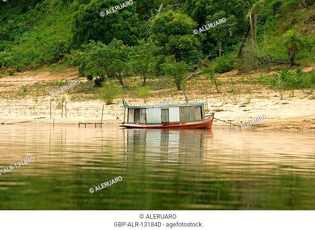 Transport Aquatic, Negro River, Manaus, Amazônia, Amazonas, Brazil