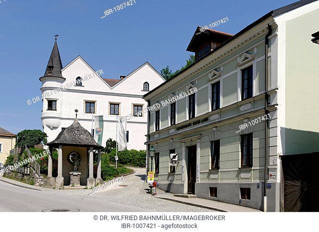 Egerer Castle, Weyer Markt, Upper Austria, Austria, Europe