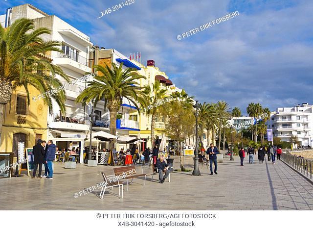 Carrer de Port Alegre, Sitges, Catalonia, Spain