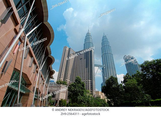 cityscape Kuala Lumpur, Malaysia