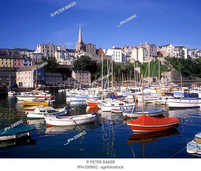 Tenby - Colourful Harbour