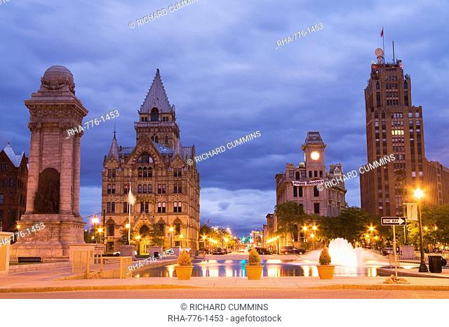 Clinton Square, Syracuse, New York State, United States of America, North America