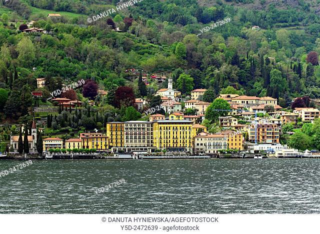 Griante, Province Como, Lombardy, western shore of Lake Como between Menaggio and Tremezzo