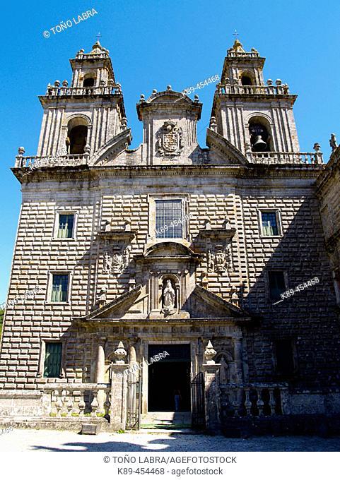 Santa María de Oseira monastery. Orense province, Galicia, Spain