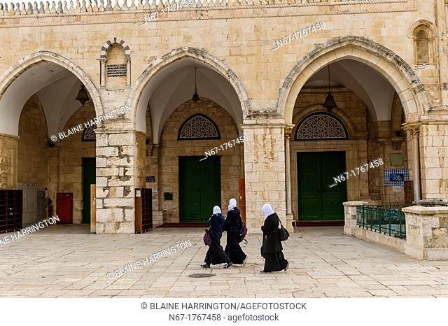 Al-Aqsa Mosque on the Temple Mount Mount Mariah, Old City, Jerusalem, Israel