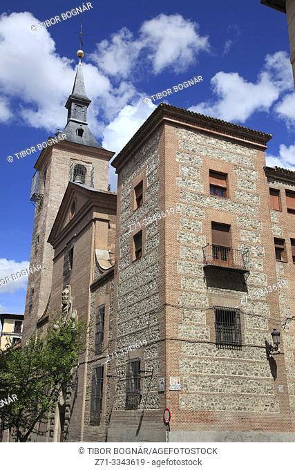 Spain, Madrid, San Gines de Arles Church,
