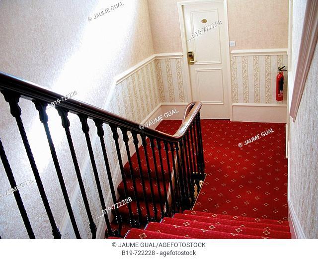 Staircase, London. England, UK
