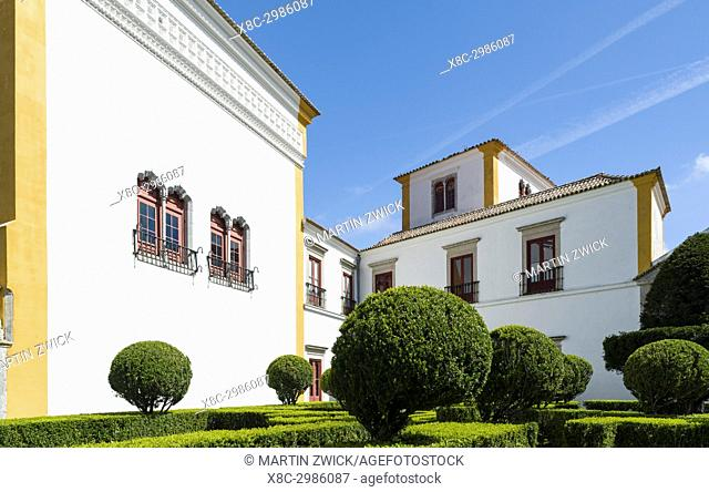 Palacio Nacional de Sintra, the national palace in Sintra, near Lisbon, part of the UNESCO world heritage. Europe, Southern Europe, Portugal