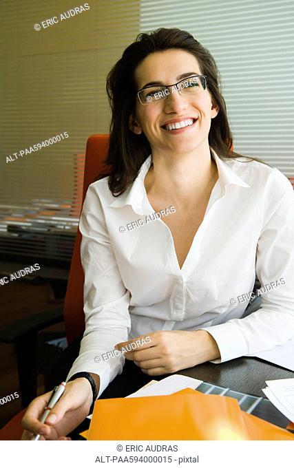 Confident businesswoman, portrait