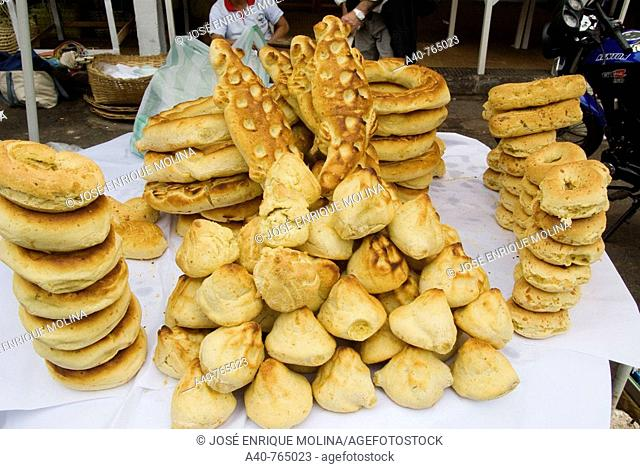 Paraguay., Department of Central.Chipas (Traditional bread)