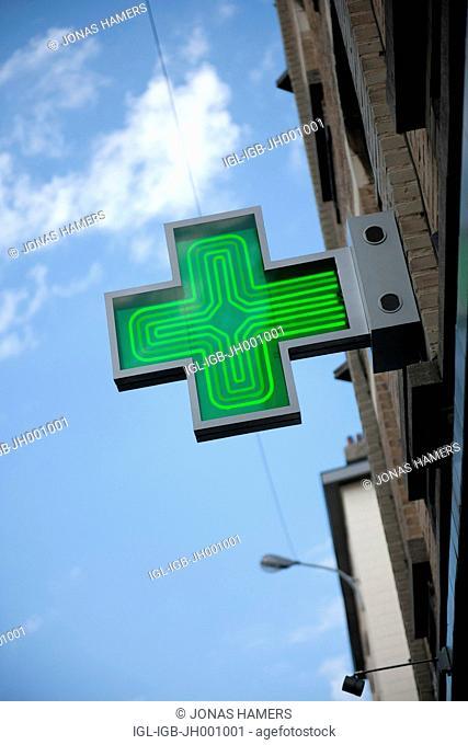 Pharmacy light signboard