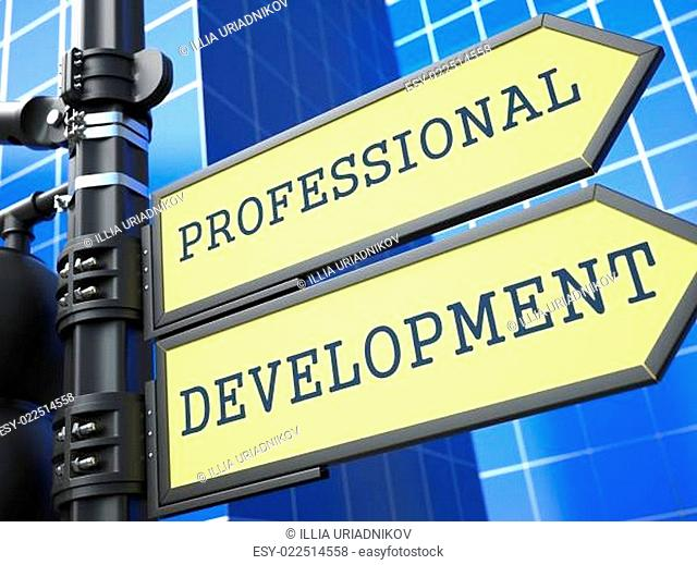 Business Concept. Professional Development Sign