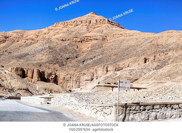 Valley of the Kings, Luxor, Egypt, Africa